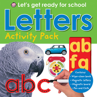 Lets's Get Ready for School Letters Activity Pack