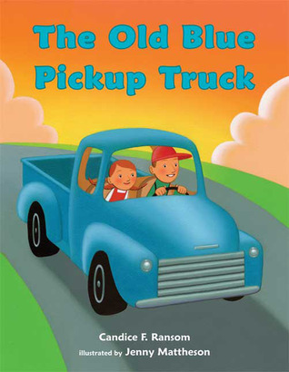 The Old Blue Pickup Truck by Candice Ransom