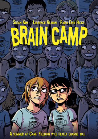 Graphic Novel Review: Brain Camp