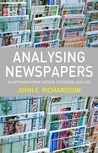 Analysing Newspapers: An Approach from Critical Discourse Analysis