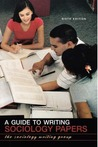 A Guide to Writing Sociology Papers