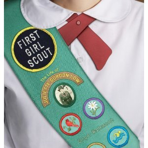 First Girl Scout by Ginger Wadsworth