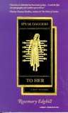 Speak Daggers to Her (Bast Mystery, #1)