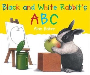 Review Black and White Rabbit's ABC PDB by Alan Baker