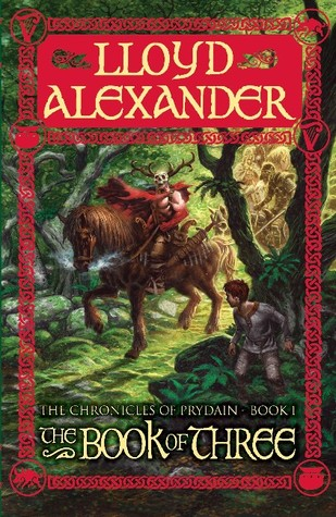 The Book of Three (The Chronicles of Prydain #1)  (REQ) - Lloyd Alexander