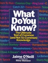What Do You Know? : The Ultimate Test Of Common (and Not So Common) Knowledge