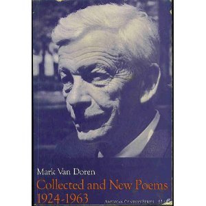 Collected and New Poems, 1924-1963 by Mark Van Doren