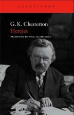 Herejes by G.K. Chesterton