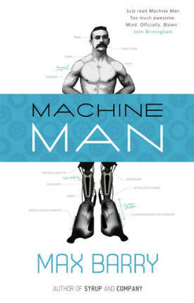 Machine Man (online serial)