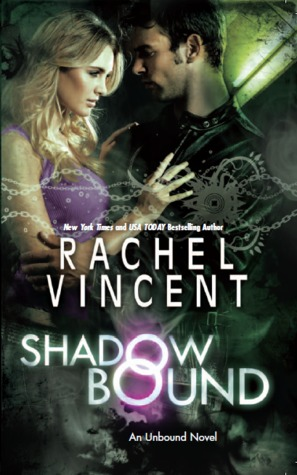 11000229 Mel reviews Shadow Bound by Rachel Vincent