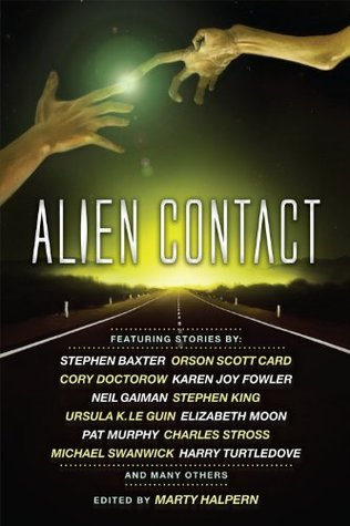 Alien Contact by Marty Halpern