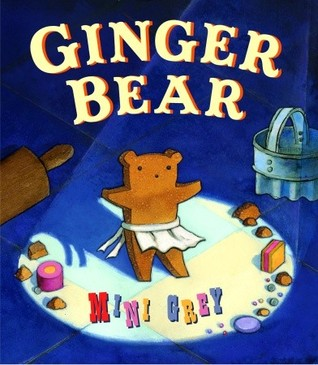Ginger Bear by Mini Grey