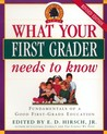 What Your First Grader Needs to Know by E.D. Hirsch Jr.