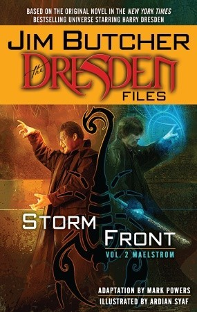 The Dresden Files by Mark Powers