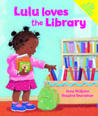 Lulu Loves The Library With Multi Language Cd (Lola)
