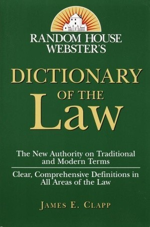 Random House Webster's Dictionary of the Law