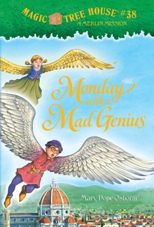 Monday with a Mad Genius (Magic Tree House #38) (A Stepping S... by Mary Pope Osborne
