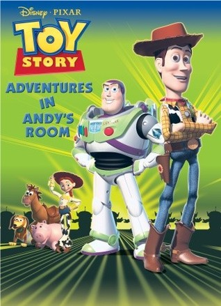 Adventures in Andy's Room: Deluxe Coloring Book (Disney/Pixar Toy Story 3)