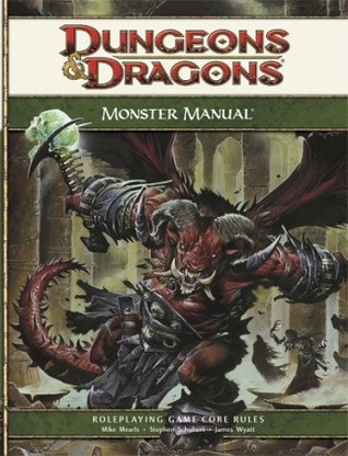 Monster Manual by Wizards RPG Team