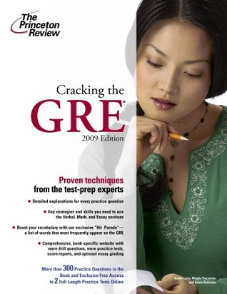 Cracking the GRE, 2009 Edition by Princeton Review