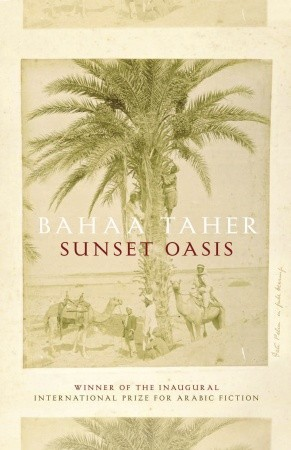 Sunset Oasis by Bahaa Taher
