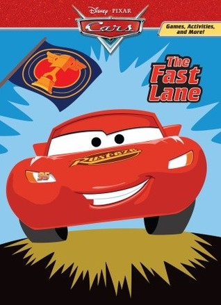 The Fast Lane (Deluxe Coloring Book)(Cars movie tie in)