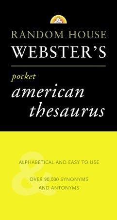 Roget's Pocket American Thesaurus by Random House Value Publishing