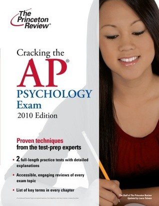 cracking the ap psychology exam 2010 edition by princeton review reviews discussion. Black Bedroom Furniture Sets. Home Design Ideas