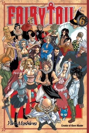 Fairy Tail, Vol. 06 by Hiro Mashima