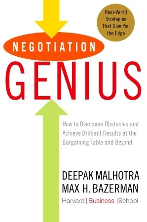 Negotiation Genius by Deepak Malhotra