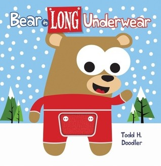 Bear In Long Underwear by Todd H. Doodler