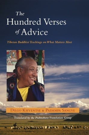 The Hundred Verses of Advice by Dilgo Khyentse