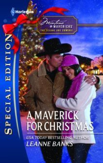A Maverick for Christmas by Leanne Banks