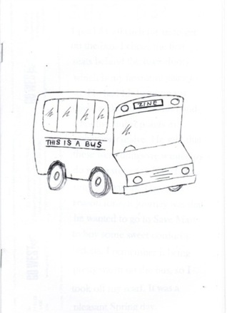 This is a Bus Zine by Stacey Teague