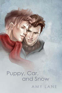 Puppy, Car, and Snow by Amy Lane