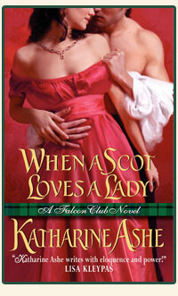 When a Scot Loves a Lady (Falcon Club, #1)