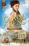 Scandal at the Cahill Saloon (Cahill Cowboys, #3)
