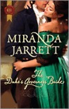The Duke's Governess Bride by Miranda Jarrett