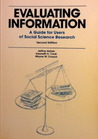 Evaluating Information: A Guide for Users of Social Science Research