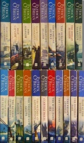 Master and Commander 20 Volume Set by Patrick O'Brian