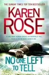No One Left to Tell (Romantic Suspense, #13)