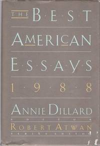 Free online download The Best American Essays 1988 (Best American Essays) PDF by Robert Atwan