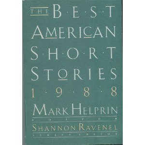 The Best American Short Stories 1988 by Shannon Ravenel