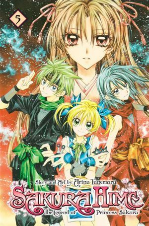 Sakura Hime: The Legend of Princess Sakura, Vol. 5