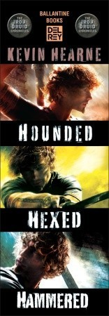 The Iron Druid Chronicles Bundle: Hounded, Hexed, Hammered (The Iron Druid Chronicles, #1-3)