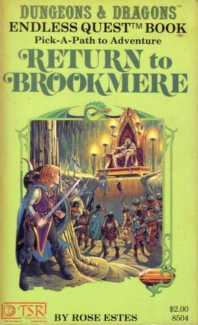 Download online Return to Brookmere (Endless Quest #4) PDF by Rose Estes