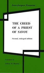 The Creed of a Priest of Savoy by Jean-Jacques Rousseau