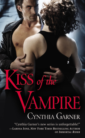 12031673 Mel reviews Kiss of the Vampire by Cynthia Garner