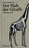 Der Hals der Giraffe by Judith Schalansky