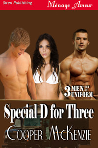 Special D for Three McKenzie by Cooper McKenzie